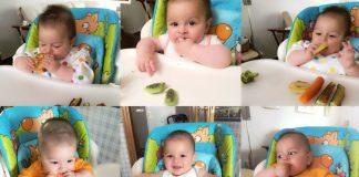 Primeros pasos del baby led weaning