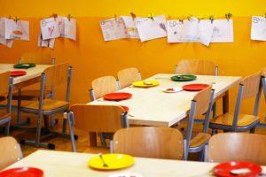 colegio y alimentación saludable