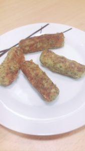 deditos de brócoli y queso