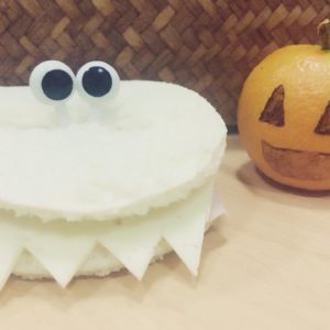 Almuerzos y meriendas saludables para halloween