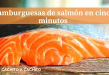 hamburguesas de salmón